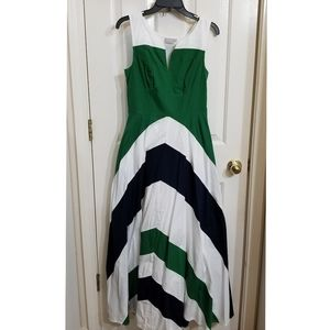 Eshakti maxi full skirt dress